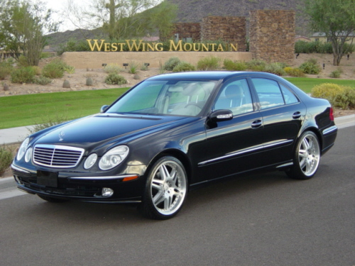 Motorgen photos 2003 mercedes benz e500 for Mercedes benz e500 2003